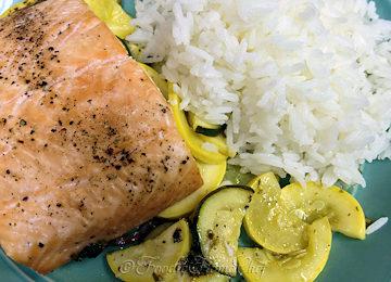Lemon Pesto Salmon