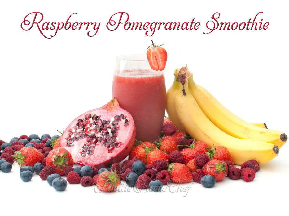 Raspberry Pomegranate Smoothie