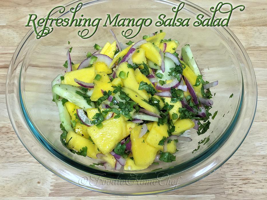 Refreshing Mango Salsa Salad