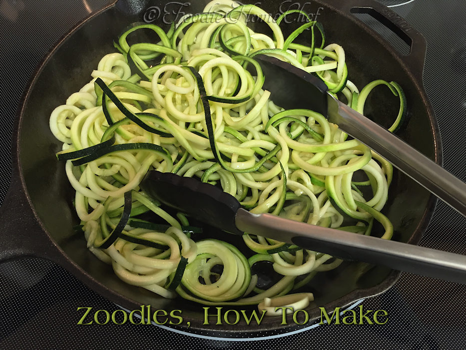 Zoodles, How To Make