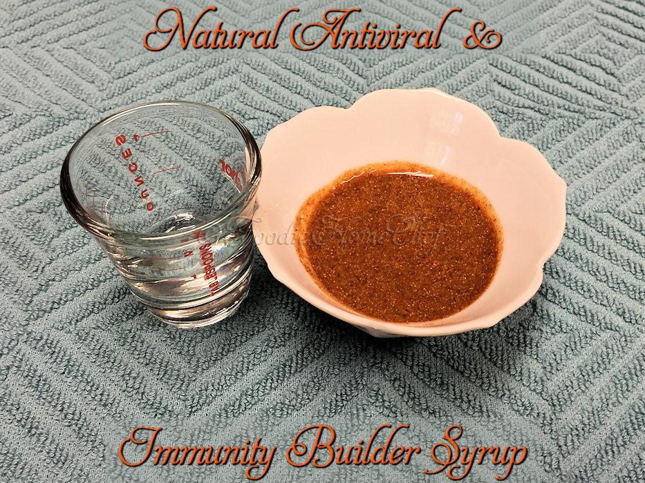 Natural Antiviral & Immunity Builder Syrup