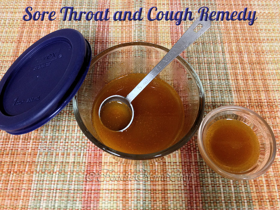 Sore Throat & Cough Remedy