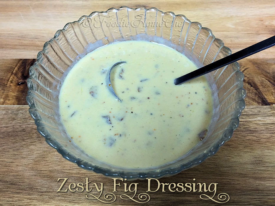 Zesty Fig Dressing