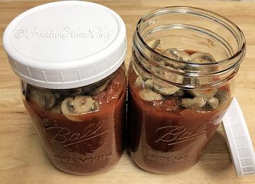 Cheater's Mushroom Pasta Sauce
