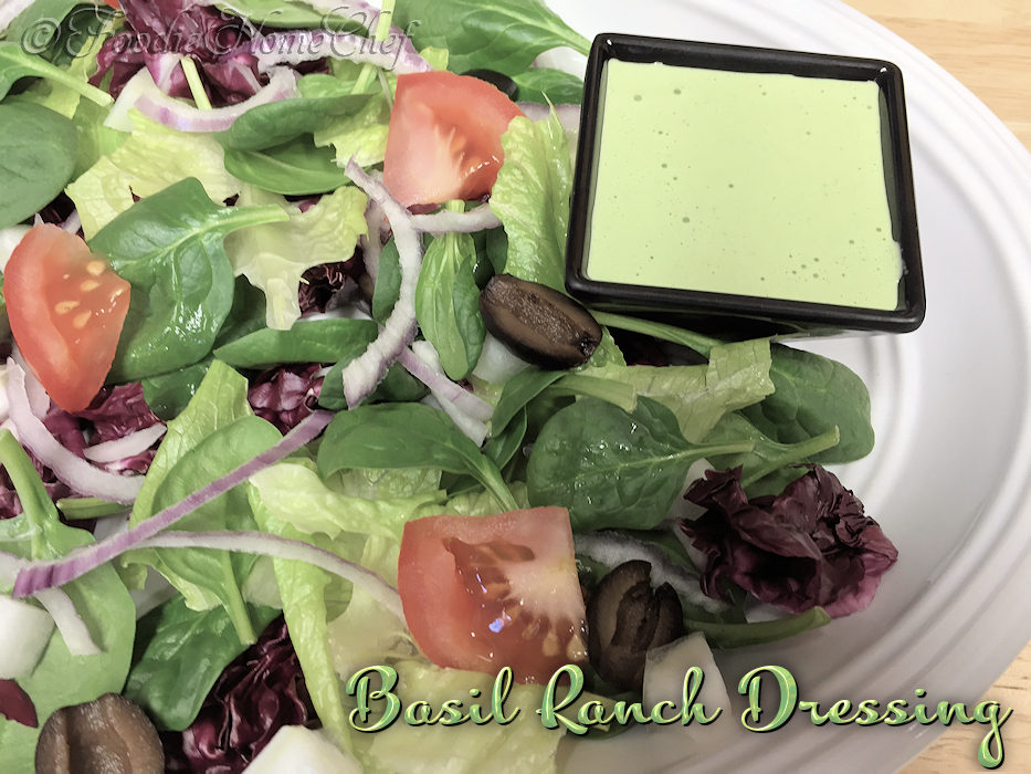 Basil Ranch Dressing