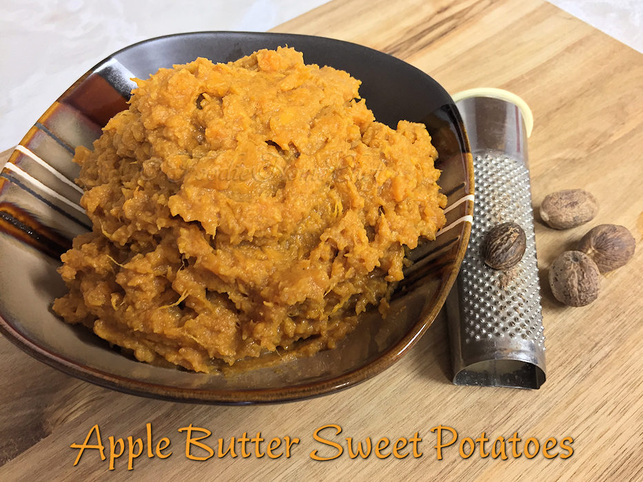 Apple Butter Sweet Potatoes
