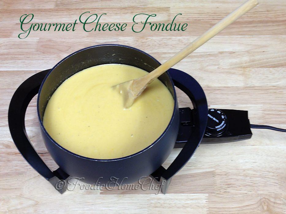 Gourmet Cheese Fondue