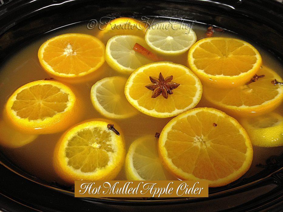 Hot Mulled Apple Cider
