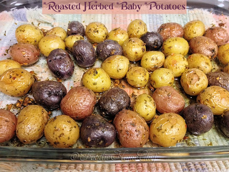 Roasted Herbed Baby Potatoes