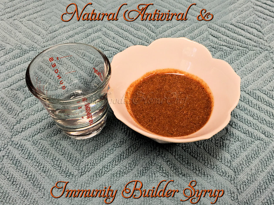 Natural Antiviral & Immunity Builder Syrup
