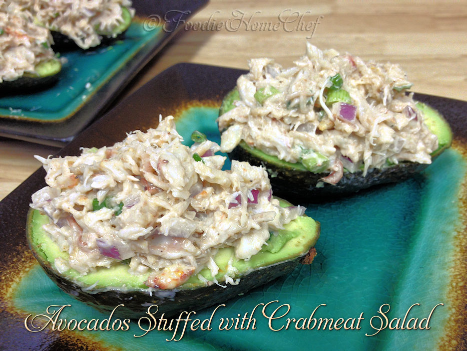 Avocados Stuffed with Crabmeat Salad