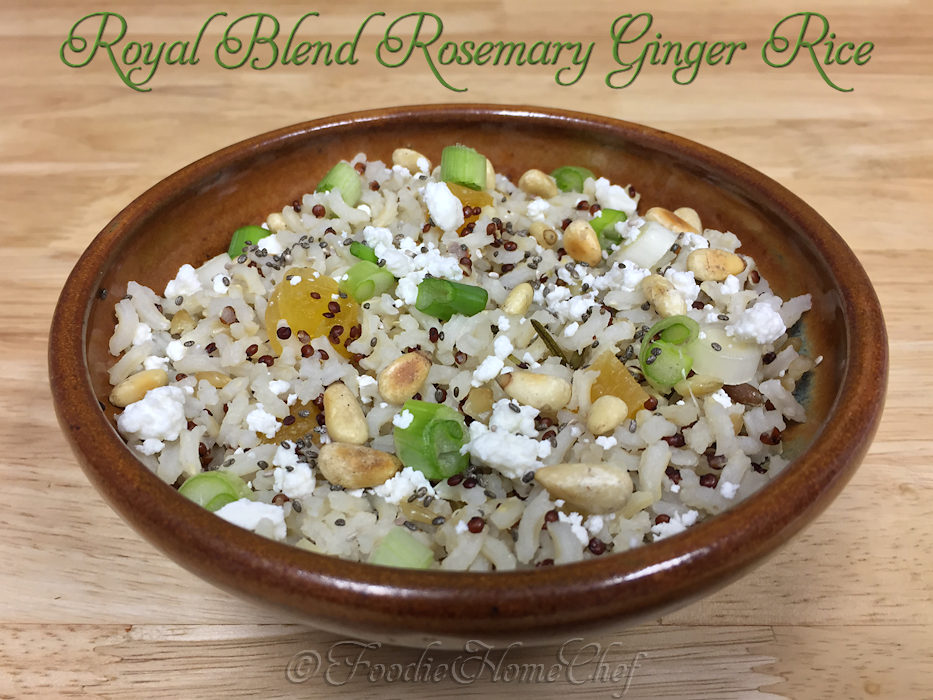 Royal Blend Rosemary Ginger Rice