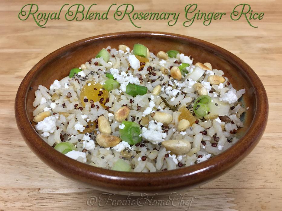 Royal Blend Rosemary Ginger Rice