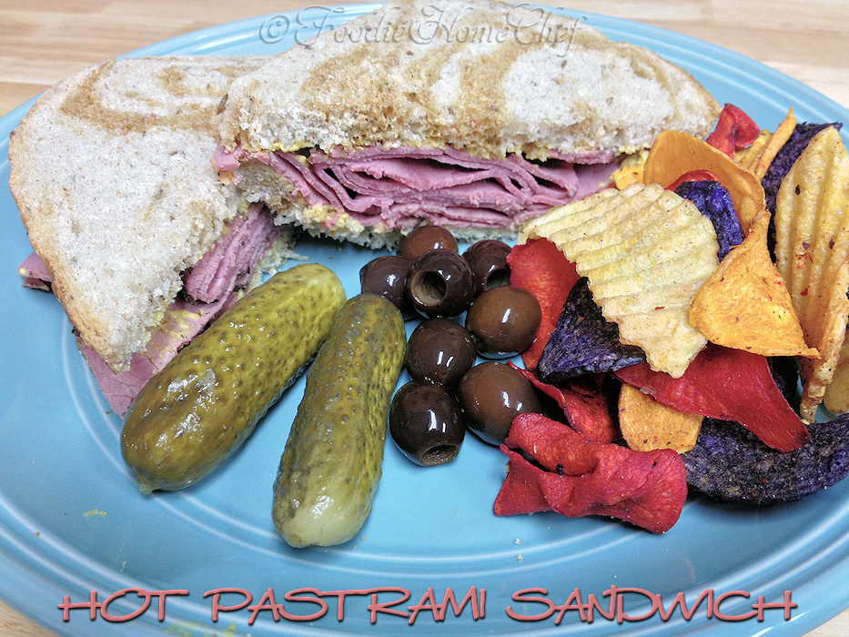 Hot Pastrami Sandwich