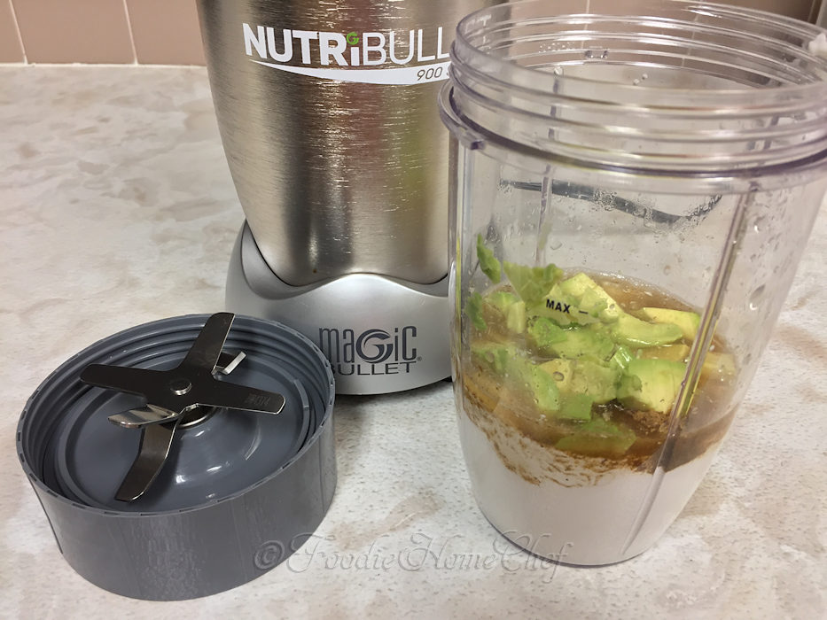 Avocado Crema mixer