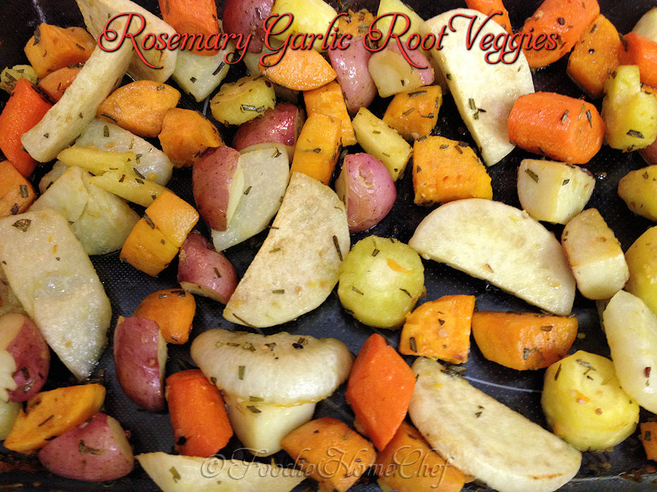 Rosemary Garlic Root Veggies