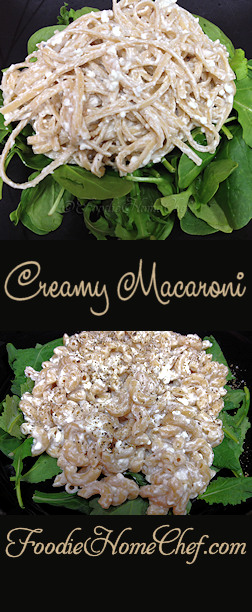 Creamy Macaroni - I developed this comfort food recipe in the late 1960's while I was still in high school. I always loved the combination of cottage cheese & sour cream and since I also loved macaroni, it was an obvious pairing in my mind. Once I tasted it, I was hooked! --------- #Food #Cooking #Recipes #Recipe #Cuisine #GreatFood #HomeCooking #ComfortFood #Pasta #PastaRecipes #Macaroni #ItalianFood #ItalianRecipes