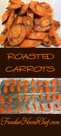 Roasted Carrots - You've never tasted #carrots, or any vegetable for that matter, until you've roasted them. They're amazingly sweet, nutty & oh so delicious... I guarantee this will become your preferred way to cook & eat them from now on! --------- #Food #Cooking #Recipes #Recipe #Cuisine #GreatFood #HomeCooking #ComfortFood #SideDish #SideDishRecipes #Vegetarian #VegetarianRecipes #Vegan #VeganRecipes #Vegetables #HealthyRecipes #RoastedVegetables #RoastedCarrots #CarrotRecipes
