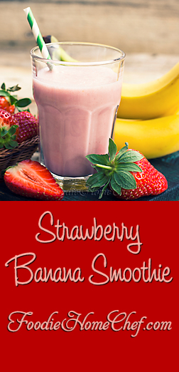 Strawberry Banana Smoothie - In a word... YUMMY! --------- #Food #Cooking #Recipes #Recipe #Cuisine #GreatFood #HomeCooking #Smoothie #Smoothies #SmoothieRecipes #PowerSmoothie #StrawberryBananaSmoothie #StrawberrySmoothie #Beverages #VegetarianRecipes #Fruit #HealthyRecipes
