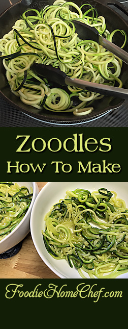What the heck are Zoodles you ask?! #Zoodles are #noodles made from zucchini squash. Very easy to make, take away a lot of the calories & create a healthier meal when you use them in place of #pasta. Once you try these you'll be using Oodles of Zoodles all the time & your kids will love them too! --------- #Food #Cooking #Recipes #Recipe #Cuisine #GreatFood #HomeCooking #ZucchiniNoodles #VegetableNoodles #VegetarianRecipes #VeganRecipes #Vegetables #HealthyRecipes #ItalianFood #ItalianRecipe