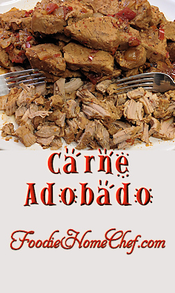Carne Adobado is basically chile marinated shredded pork. Mostly used as a filling for tacos, burritos, enchiladas & quesadillas. I like to make this & then freeze it in portioned containers & it'll last quite a long time... so it's well worth the effort! --------- #Food #Cooking #Recipe #Recipes #Cuisine #GreatFood #HomeCooking #ComfortFood #MexicanFood #MexicanRecipes #SpicyRecipes #Carne #CarneAdobado #MexicanPulledPork #PulledPork #PorkRecipes #Pork #Tacos #TacoFilling #CincodeMayo