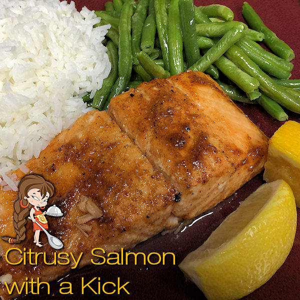 Citrusy Salmon with a Kick - This is one of my Signature Recipes & is on the menu frequently at my house. You can either cook this on a sheet pan or a cedar plank & I've included directions for both methods. --------- #Salmon #SalmonRecipes #Food #Cooking #Recipes #Recipe #RecipeOfTheDay #Cuisine #GreatFood #HomeCooking #ComfortFood #Seafood #SeafoodRecipes #CedarPlankRecipes #CedarPlankSalmon #CedarPlank #Dinner #DinnerRecipes