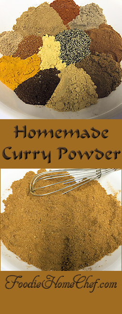 Homemade Curry Powder - #CurryPowder is widely used in Indian cooking. Authentic #IndianCurryPowder is freshly ground each day & will vary dramatically depending on the region & the cook. This is my original curry powder recipe. Easy to make & tastes extremely better than the commercial curry powder you buy in the supermarket. Use in any recipe that calls for curry powder. --------- #Food #Cooking #Recipes #Recipe #Cuisine #GreatFood #HomeCooking #SpiceBlends #SeasoningBlends #IndianCooking