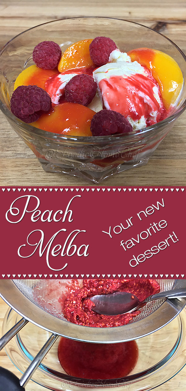Peach Melba Dessert - Guaranteed to put a smile on your face! This bright & cheery, smooth & creamy, scrumptious dessert is sure to become your favorite dessert once you taste it! --------- #PeachMelbaDessert #PeachMelba #Food #Cooking #Recipes #Recipe #RecipeOfTheDay #Cuisine #GreatFood #HomeCooking #ComfortFood #Fruit #FruitRecipes #HealthyRecipes #HealthyDesserts #Dessert #DessertRecipes #FoodieHomeChef