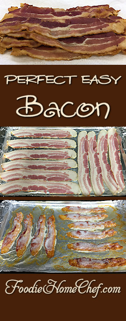 Perfect Easy Bacon - Hate to cook bacon & cleanup afterwards with all the splattering & so on? Well, I've tried every possible way to cook #bacon & this is by far the easiest, takes the shortest time, gets the most consistent results & cleanup is almost non-existent. What more could you ask for? --------- #Food #Cooking #Recipes #Recipe #Cuisine #GreatFood #HomeCooking #BaconRecipes #BaconRecipe #EasyBacon #EasyBaconRecipe #Breakfast #BreakfastRecipes