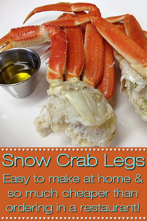It's so expensive to order Snow Crab Legs in a restaurant. They're so quick & easy to cook at home, you'll kick yourself for never doing it before! Buy them in the seafood dept at your local grocery store. Look for them to go on sale, buy in bulk, keep in the freezer & save big bucks! --------- #SnowCrabLegs #SnowCrab #SnowCrabRecipes #CrabLegs #CrabRecipes #Seafood #SeafoodRecipes #FoodieHomeChef