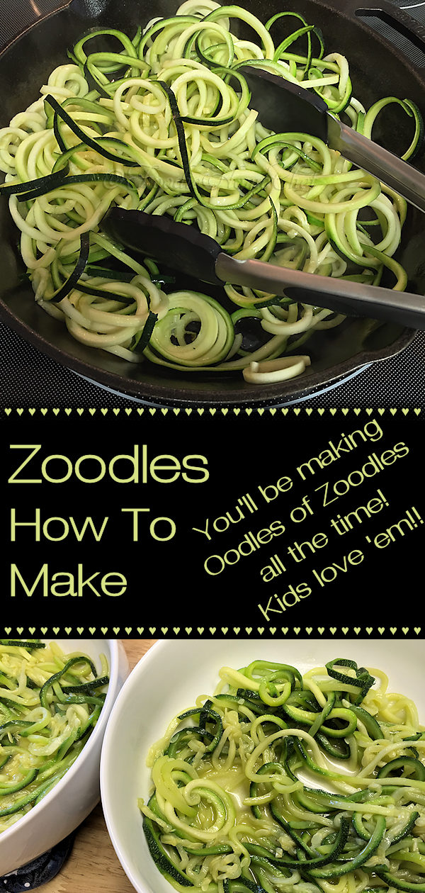 If you haven't tried Zoodles yet you're in for a treat! I'll show you how to buy the right zucchini, make them & cook them. Zoodles will help you lose weight too... when you serve them in place of pasta. Once you try these you'll be using Oodles of Zoodles all the time & your kids will love them too! --------- #Zoodles #ZucchiniNoodles #VegetableNoodles #VegetarianRecipes #VeganRecipes #Vegetables #HealthyRecipes #KetoRecipes #ItalianFood #ItalianRecipes #FoodieHomeChef