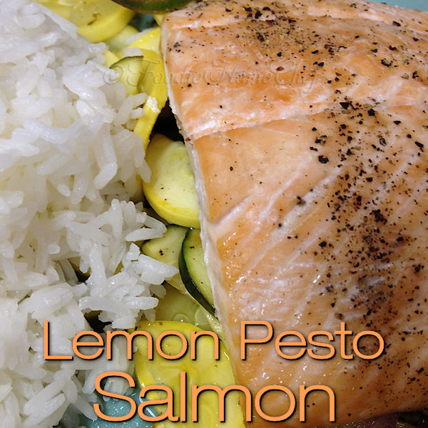 Not only is this sheet pan salmon dinner seriously delicious & customizable, but it brags easy prep & cleanup! Once you try it... it will be one of your go to recipes, especially on busy days. Add a side of Jasmine Rice & you have yourself a complete comfort food meal! --------- #LemonPestoSalmon #Salmon #SalmonRecipes #Seafood #SeafoodRecipes #PacketRecipes #ComfortFood #SheetPanSalmon #SheetPanRecipes #Food #Cooking #Recipes #Recipe #FoodieHomeChef