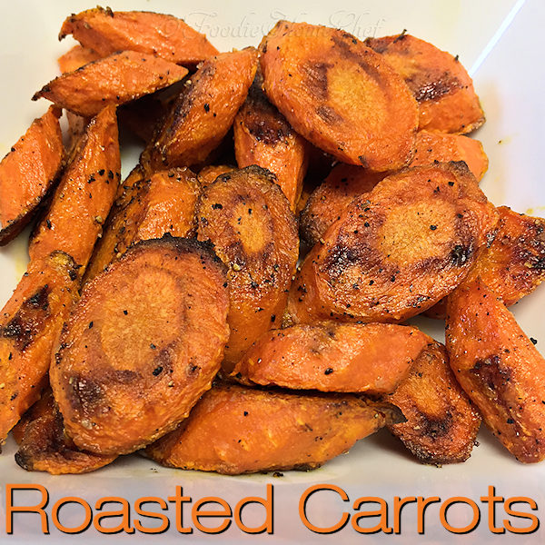 Roasted Carrots - Once you start roasting your carrots, or any vegetable for that matter, you'll swear you've gone to vegetable heaven! Roasting carrots brings out their amazing sweet & nutty flavor. I guarantee this will become your preferred way to cook & eat them from now on! --------- #RoastedCarrots #CarrotRecipes #RoastedVegetables  #SideDishRecipes #VegetarianRecipes #VeganRecipes #HealthyRecipes #Food #Cooking #Recipes #Recipe #SheetPanRecipes #FoodieHomeChef