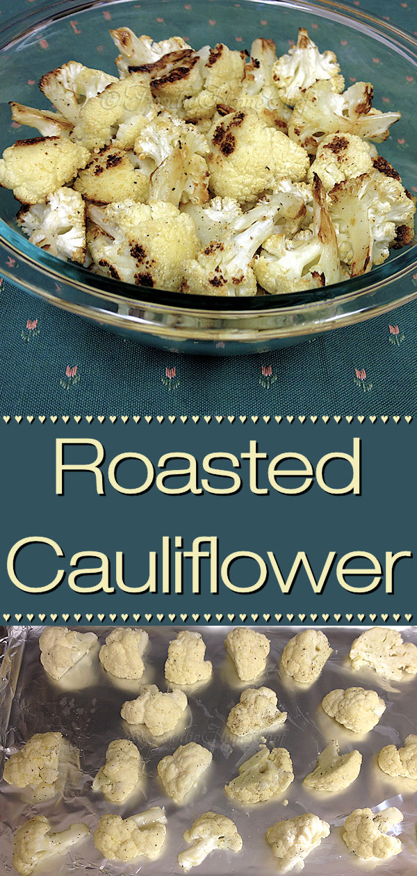 I never cared for cauliflower, as I thought it tasted bland & boring. Once I roasted it though... boy what a difference! Roasted Cauliflower has a fabulous nutty flavor & makes a great side dish... even kids love it! Cauliflower is a superfood, which you'll want to incorporate into your diet on a regular basis. --------- #RoastedCauliflower #CauliflowerRecipes #RoastedVegetables #VegetarianRecipes #VeganRecipes #HealthyRecipes #Superfood #Food #Cooking #Recipes #Recipe #FoodieHomeChef