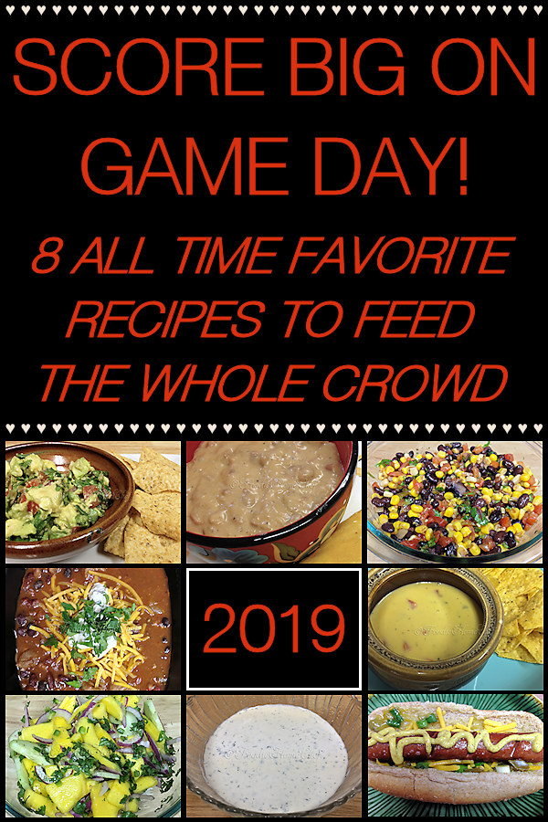 Score Big on Game Day! These popular party recipes are guaranteed to make your whole crowd happy on Super Bowl Sunday or any Game Day for that matter! --------- #SuperBowl #SuperBowlSunday #SuperBowl2019 #SuperBowlRecipes #SuperBowlFood #GameDayRecipes #GameDayFood #PartyFood #PartyRecipes #Food #Cooking #Recipes #Recipe #FoodieHomeChef