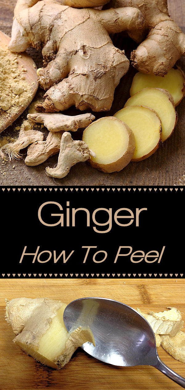 Ginger is truly a gem in the spice world. Not only does it add terrific flavor to many dishes, but it has medicinal qualities as well. Ginger is fairly expensive, so it's important not to waste any of it! Adopting this technique for peeling fresh ginger will help you remove just the skin, leaving the ginger intact with no waste. ---------  #HowToPeelGinger #PeelGinger #PeelingGinger #Ginger #Spices #AsianFood #AsianRecipes #Food #Cooking #Recipes #Recipe #FoodieHomeChef
