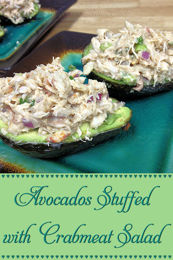 This is really 2 healthy recipes in one... the stuffed avocados are a great choice for lunch, an appetizer, snack or side dish. The crabmeat salad can be served on a bed of organic greens, in a sandwich or whatever your imagination can come up with! --------- #Avocado #AvocadoRecipes #StuffedAvocados #Crabmeat #CrabmeatSalad #CrabmeatRecipes #Appetizers #Snacks #Lunch #SideDishes #HealthyRecipes #Food #Cooking #Recipes #Recipe #FoodieHomeChef