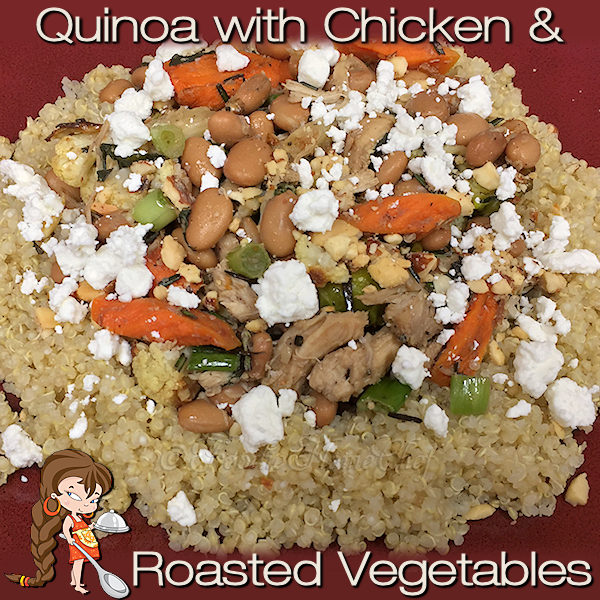 This healthy quinoa dish is loaded with superfoods & has a fabulous, complex flavor that you're going to love! It's one of my Signature Recipes & one of 3 that I can honestly say is one of my all time favorite meals. --------- #Quinoa #QuinoaRecipes #RoastedVegetables #HealthyRecipes #Superfood #Food #Cooking #Recipes #Recipe #FoodieHomeChef