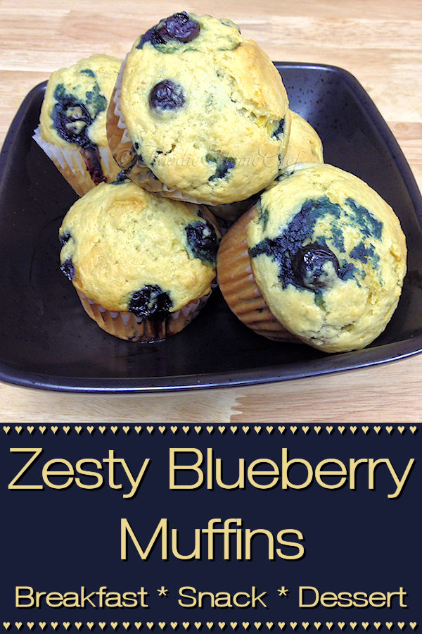 What makes these blueberry muffins zesty & pop with flavor... is the addition of lemon zest. Serve these delicious, healthy gems for breakfast, a snack or dessert. You might want to make a double batch & freeze them, as they seem to disappear quickly! --------- #BlueberryMuffins #Muffins #MuffinRecipes #Breakfast #BreakfastRecipes #Snacks #SnackRecipes #Desserts #DessertRecipes #ComfortFood #HealthyRecipes #Food #Cooking #Recipes #Recipe #FoodieHomeChef