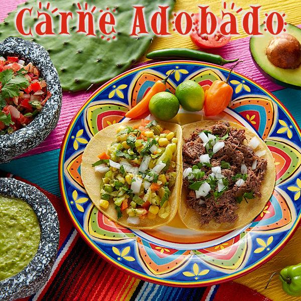 What is Carne Adobado you ask? It's an awesome chile marinated & Mexican spiced shredded pork with a variety of uses, such as a filling for tacos, burritos, enchiladas, quesadillas, nachos & more. This recipe makes a large batch that lasts a long time. It's freezer friendly, so it's well worth the effort! --------- #MexicanFood #MexicanRecipes #Carne #CarneAdobado #MexicanPulledPork #PulledPork #PorkRecipes #Tacos #TacoFilling #CincodeMayo #Food #Cooking #Recipes #Recipe #FoodieHomeChef