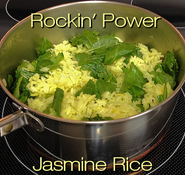 No more bland boring rice... jazz up your rice for an easy lunch or terrific side dish making it rock! Adding 3 superfoods to Jasmine Rice brings it's flavor & health benefits over the top! --------- #JasmineRice #Rice #RiceRecipes #AsianFood #AsianRecipes #SuperfoodRecipes #VegetarianRecipes #HealthyRecipes #SideDishes #Food #Cooking #Recipes #Recipe #FoodieHomeChef