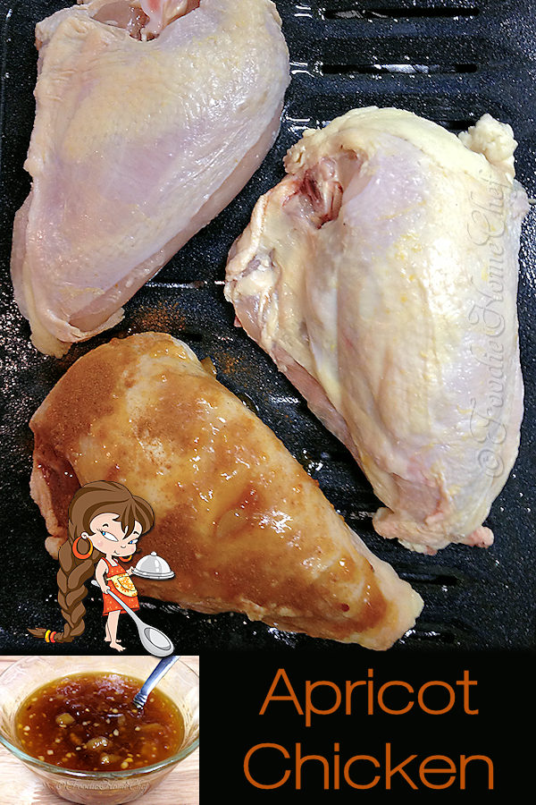 Without a doubt this is my favorite chicken recipe & one of my signature recipes. I get cravings for it... so I make it often! I love to serve it with Jasmine Rice or Mashed Potatoes & a vegetable side like corn, zucchini or broccoli. Give this a try, I'm sure you & your family will love it! --------- #ApricotGlazedChicken #ApricotChicken #Chicken #Poultry #ChickenRecipes #OvenBakedChicken #BakedChicken #ChickenDinner #Dinner #DinnerRecipes #Food #Cooking #Recipes #Recipe #FoodieHomeChef