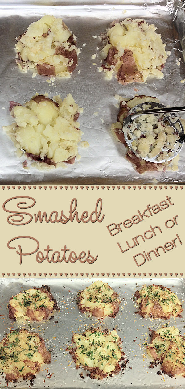 You're gonna love these potatoes...crunchy around the edges & soft in the center. The best part about this recipe is that you can easily customize it by altering the herbs / spices to match whatever dish you're serving them with. They're even a welcome side to your bacon & eggs breakfast! --------- #SmashedPotatoes #PotatoRecipes #Potatoes #SheetPanRecipes #SideDish #SideDishRecipes #Vegetables #RootVegetables #VegetarianRecipes #HealthyRecipes #Food #Cooking #Recipes #Recipe #FoodieHomeChef