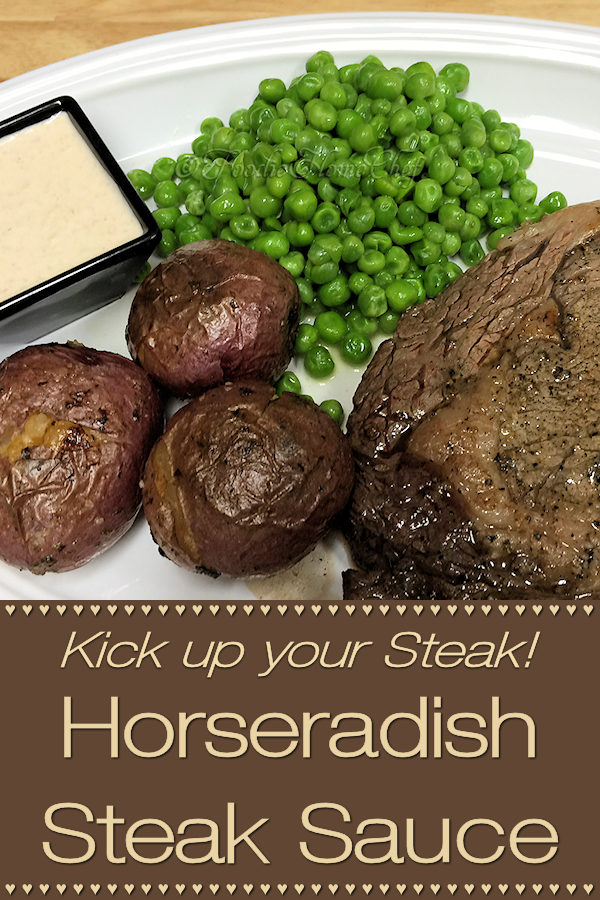 The ingredients for this Horseradish Steak Sauce recipe was gifted to my by a professional chef & it's fantastic! Besides steak or prime rib, you can serve this with many other items such as seafood, vegetables or anything else your imagination can come up with. ---------  #HorseradishSteakSauce #HorseradishSauce #SteakSauce #Condiments #CondimentRecipes #Steak #Meat #Sauce #SauceRecipes #Food #Cooking #Recipes #Recipe #FoodieHomeChef