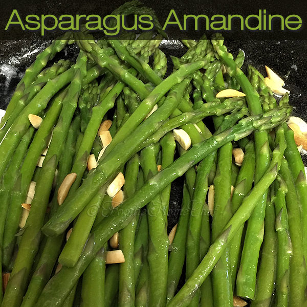 Asparagus Amandine by Foodie Home Chef is an easy to make healthy, keto friendly side dish & boasts an easy cleanup! It pairs great with so many foods such as fish, chicken & steak... just to name a few. It also makes a great addition to your Thanksgiving or Christmas dinner. #AsparagusAmandine #AsparagusRecipes #VegetableRecipes #SideDish #SideDishRecipes #CastIronRecipes #SkilletRecipes #EasyRecipes #HealthyRecipes #VegetarianRecipes #KetoRecipes #foodiehomechef @foodiehomechef
