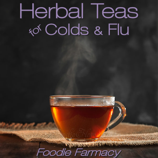 Certain herbal tea blends are especially beneficial for the role they play in making you feel better when you're sick, suppressing your symptoms & may even shorten the duration of your cold or flu. These 2 teas are the ones I depend on when I'm sick, I highly recommend them & they taste great too! #HerbalTeas #HerbalTeasForColds #HomeRemedies #NaturalRemedies #ColdRemedies #Farmacy #FoodieFarmacy #foodiehomechef @foodiehomechef