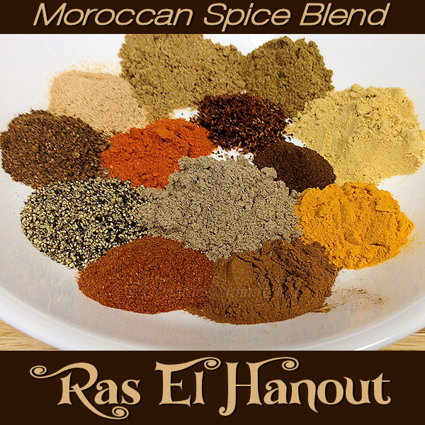 When making this fabulous spice blend by Foodie Home Chef, the aroma alone will make your mouth water! Ras El Hanout is a Moroccan, traditional, versatile spice blend that can be used on roasted meats & poultry, vegetables, in soups & stews and even on salads. Using your imagination, I'm confident you'll find all sorts of ways to use Ras El Hanout. #RasElHanout #MoroccanSpiceBlends #AfricanRecipes #SpiceBlends #SeasoningBlends #VegetarianRecipes #VeganRecipes #foodiehomechef @foodiehomechef