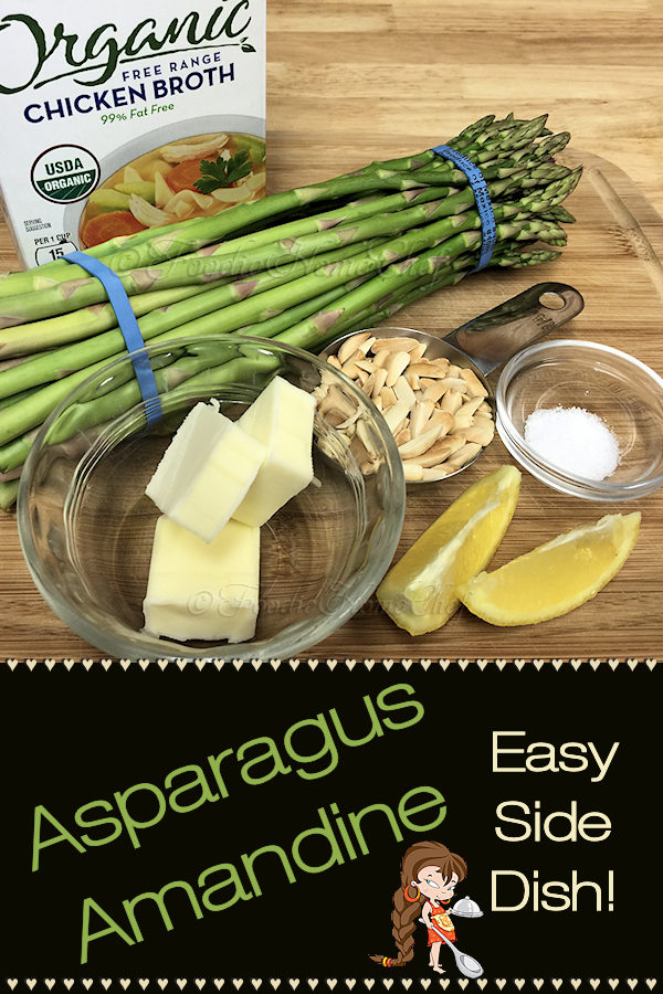 Looking for a quick & easy side dish with easy cleanup? This Asparagus Amandine by Foodie Home Chef is so delicious paired up with many foods such as fish, chicken & steak... just to name a few. It's also a welcome addition to any holiday meal, especially for Thanksgiving or Christmas dinner! Asparagus Amandine | Asparagus Almondine | Asparagus Recipes | Easy Side Dishes | Side Dish Recipes | Easy Recipes | Healthy Recipes | Holiday Side Dishes | #foodiehomechef @foodiehomechef