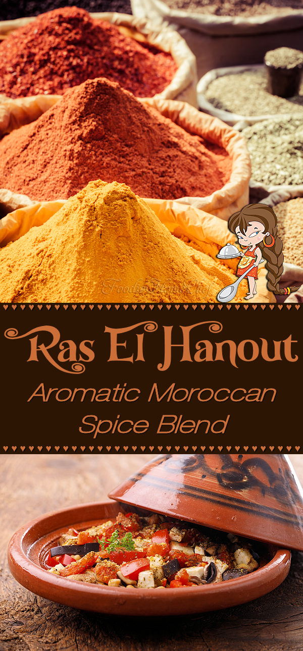 When making this fabulous spice blend by Foodie Home Chef, the aroma alone will make your mouth water! Ras El Hanout is a versatile Moroccan spice blend that you can use on meats, poultry, vegetables, potatoes, in soups & stews, on salads & even on eggs. Using your imagination, I'm confident you'll find all sorts of ways to use Ras El Hanout. Ras El Hanout | Moroccan Spice Blend | Moroccan Seasoning | African Recipes | Spice Blends | Seasoning Blends | #foodiehomechef @foodiehomechef
