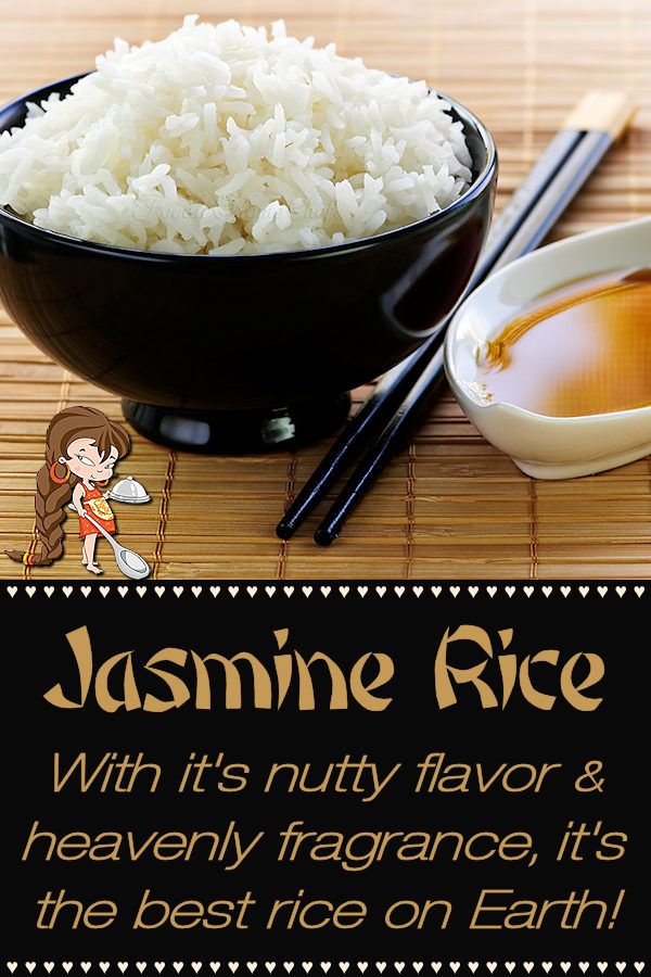 With it's heavenly fragrance & terrific nutty flavor Jasmine Rice by Foodie Home Chef makes the perfect side dish alongside just about any kind of food. Jasmine Rice is also the best rice to serve with stir-fry or other Asian dishes. It's easy to make right on your stove top, cooks up perfectly every time & it freezes well too! Jasmine Rice | Rice Recipes | Asian Recipes | Vegetarian Recipes | Healthy Recipes | Side Dish Recipes | Best Rice for Stir Fry | #foodiehomechef @foodiehomechef
